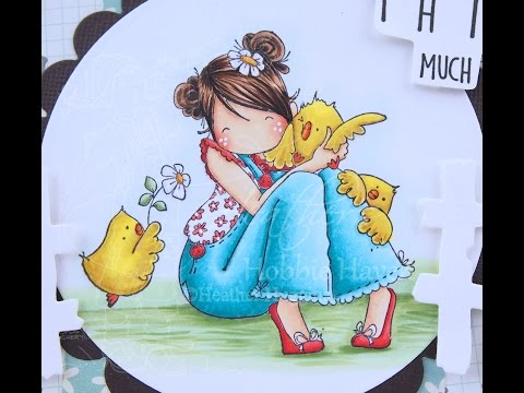 Heidi Needs a Hug Copic Coloring Card Kit