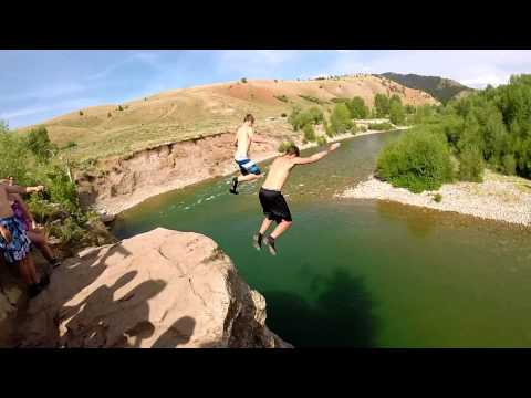 Becoming ALPHA-[ZLAZ 2014]-Cliff Jumping In Wyoming