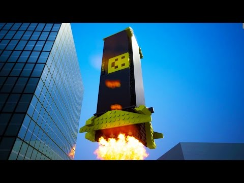 The Largest Cruise Missile Ever Made in Brick Rigs!  - Brick Rigs Workshop Creations Gameplay