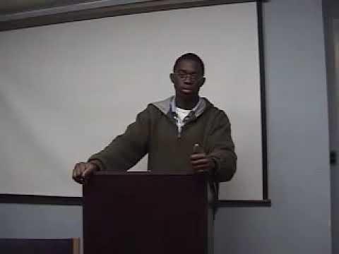 Bad Public Speaking Example 4 - YouTube