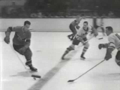 1951 Stanley Cup Toronto Maple Leafs Vs Montreal Canadiens