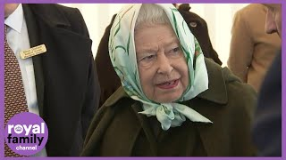 Queen Opens Pumping Station 72 years After Her Father King George VI