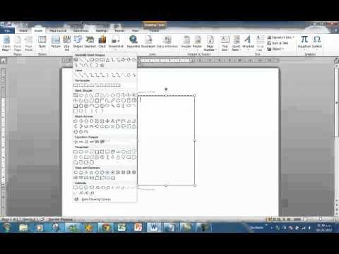 Como poner cuadro sinoptico en microsoft office 2010 youtube for Como colgar un cuadro