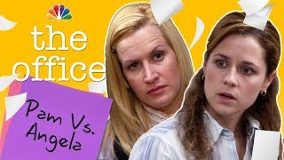 Pam And Angela: Our Favorite Frenemies   The Office (mashup)