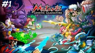 Мутанты Генетические войны вернулись только На Фейс буке Mutants Genetic Gladiators #1