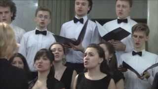 National Hymn of the Republic of Belarus  (N. Sokolovsky, V. Karyzna) - Choir of the BSAM