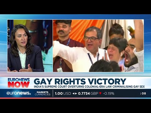 Gay Rights Victory: India's supreme court overturns colonial-era law