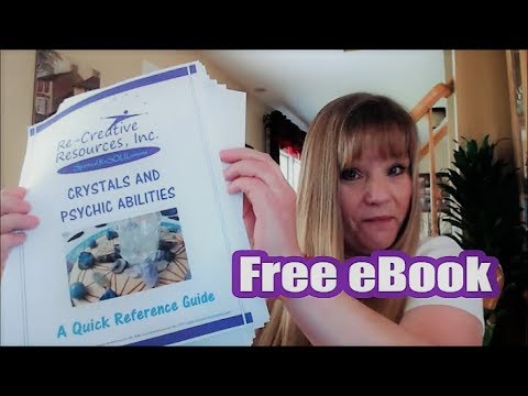 🔮Free Ebook: Crystals and Psychic Abilities: Quick Reference Guide