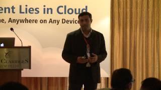 Amit Sharma, Solution Architect from Amazon Web Services talks about Newgen