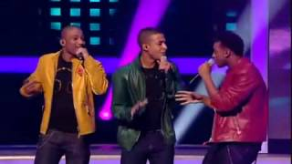 JLS -  The X Factor - Week 4 Act 9 -   Medley of  Working My Way Back To You Forgive Me Girl