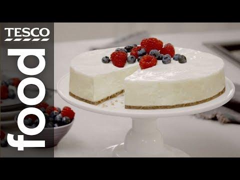 1-minute expert: How to make baked cheesecake | Tesco Food