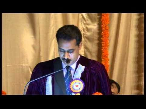 XXV Annual Convocation of TAPMI - part#1