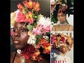 Tribute to BEYONCÉ's VOGUE magazine cover: Flower crown x Glossy nude