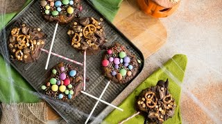 Chocolate Apple Pops