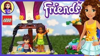 Lego Friends Heartlake Hot Air Balloon Unboxing Building Review - Kids Toys