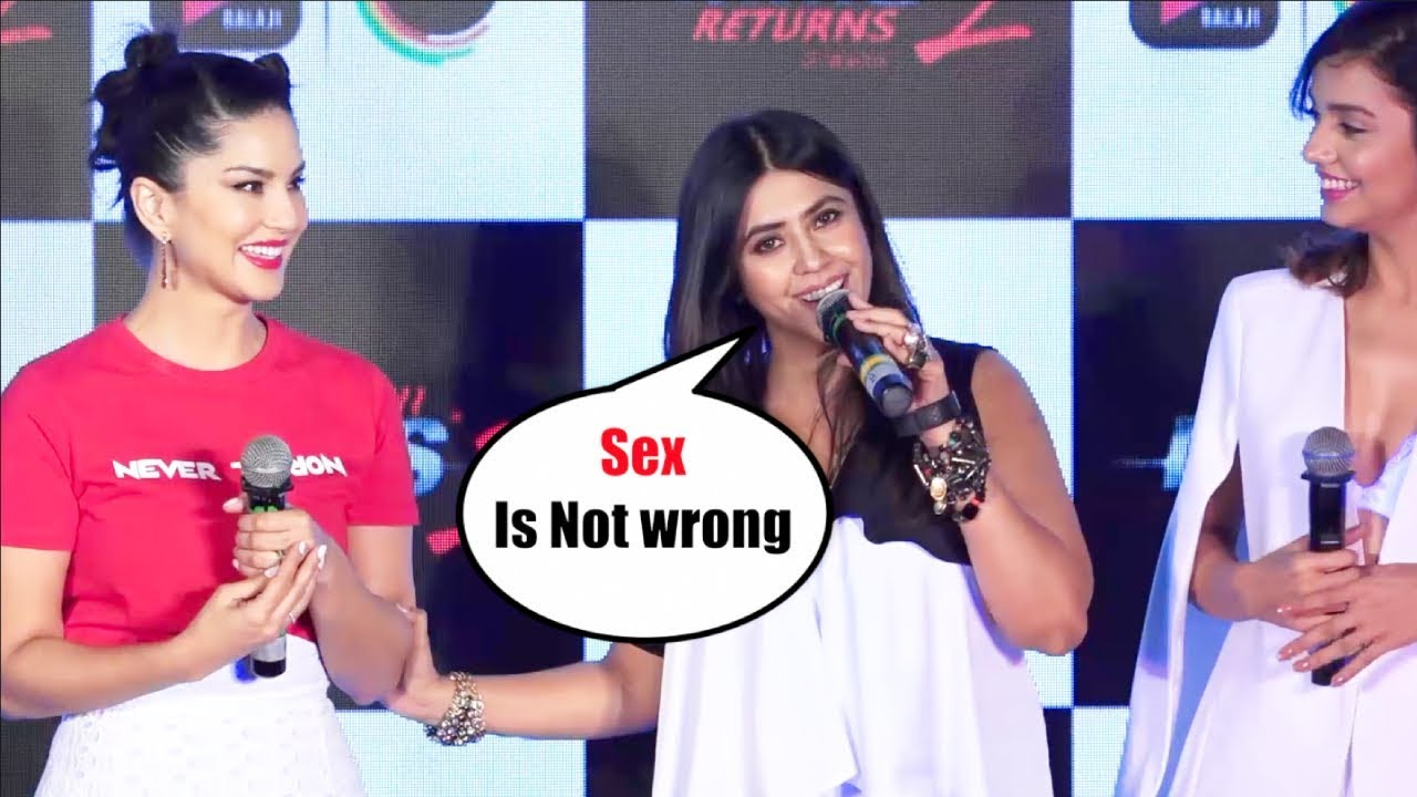 Download Ekta Kapoor ANGRY Response To Media At Ragini MMS Returns 2 Launch event