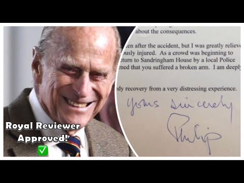 Prince Philip 'Deeply Sorry' APOLOGISES - Sends Letter Of Apology To Ms. Fairweather!