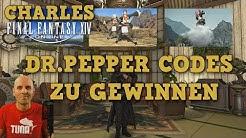FFXIV Gewinnspiel / Dr. Pepper Items bei Charles zu gewinnen