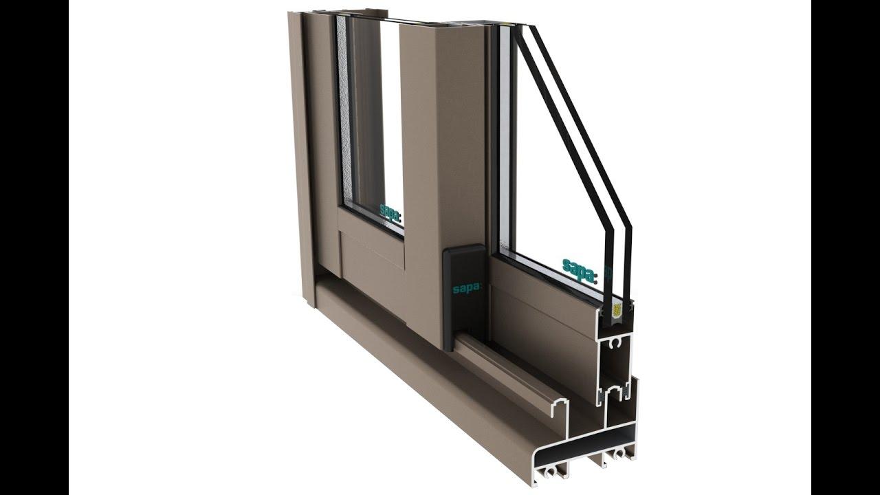 Como hacer puertas de ba o en aluminio youtube for Puertas para bano en aluminio