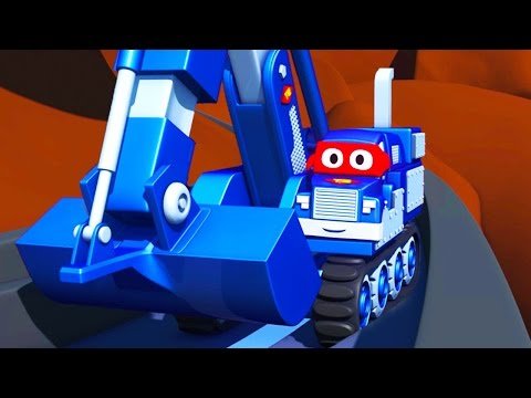 Carl  the Super Truck 🚚 in Saving Baby Cars 👶 in Car City | Trucks Cartoon for kids