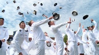 Scenes from Coast Guard Academy commencement 2016