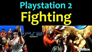 10 awesome PS2 Fighting games (ง'̀-'́)ง ... (Gameplay)