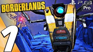 Borderlands 1 Remaster - Gameplay Walkthrough Part 1 - Prologue (PS4 PRO) GOTY