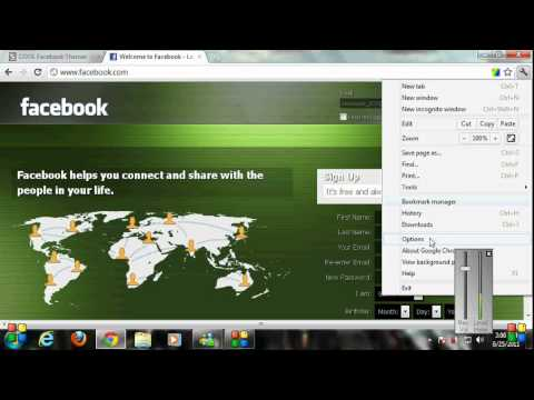 How to change your facebook theme on Chrome and Mozilla Firefox