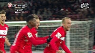 Футбол. РФПЛ. 14-й тур. Спартак - Амкар 1:0 90+1' Денис Глушаков