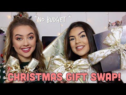 Christmas Sister Swap.Huge Christmas Gift Swap With My Sister No Budget