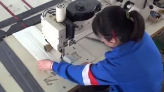 366-76-12 Speciální průmyslový šicí stroj s klikatým stehem (cik-cak) pro plachty výroba