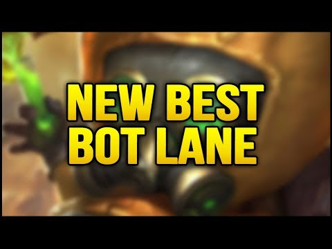 New Best Bot Lane combo in the game | Insane Poke and Easy Wins