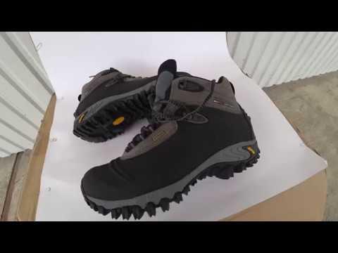 Купил ботинки Merrell Thermo 6 Waterproof(J82727) - YouTube 91f39b70b24