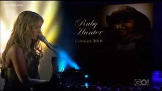 Delta Goodrem performs 'The Day You Went Away' at the 2011 ARIA Awards