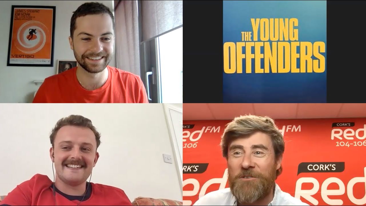 Alex Murphy Chris Walley Speak To Dave Mac About The Young Offenders S3 Cork S Red Fm 104 106 Fm Youtube