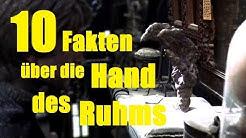 10 FAKTEN über die HAND des RUHMS
