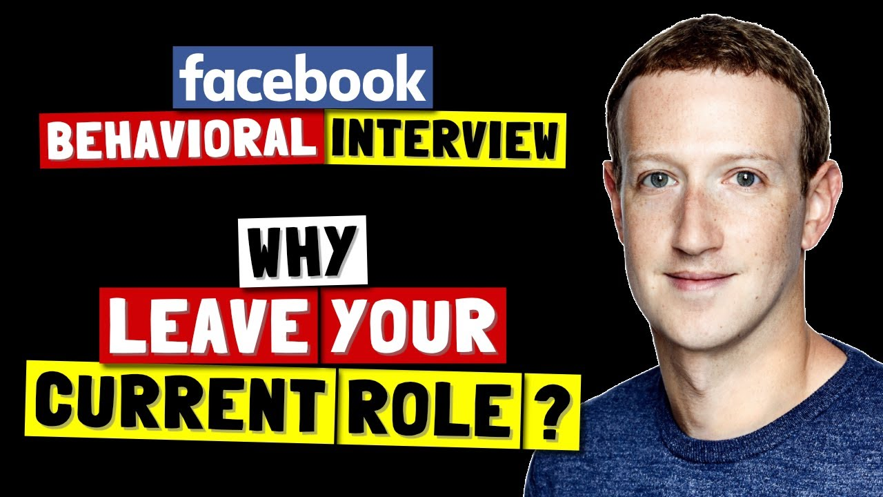 ✅ Why Do You Want To Leave Your Current Role? | Facebook Behavioral (Jedi) Interview Series 🔥