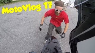 MotoVlog #17 Stage de Stunt avec Qwerty-Julien, ZE motard belge