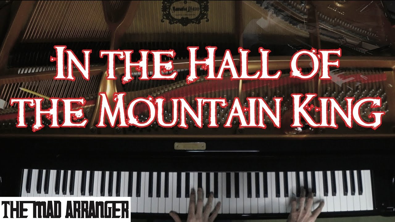 In the Hall of the Mountain King - Advanced Jazz Piano Arrangement by Jacob Koller - YouTube
