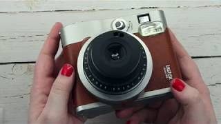 Fujifilm Instax Mini 90 Neo Classic Unboxing and Review