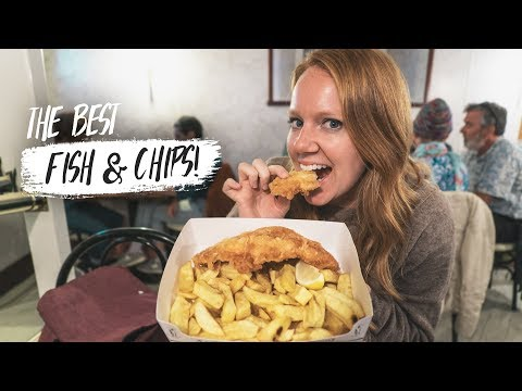 British Food - Scotland's Best FISH & CHIPS!? + Exploring ISLE OF MAY 😍(Fife, Scotland)