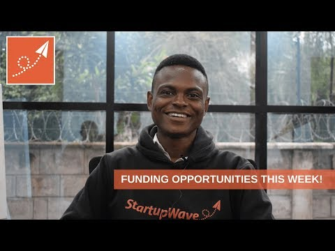 Funding Opportunities for your Startup this Week!