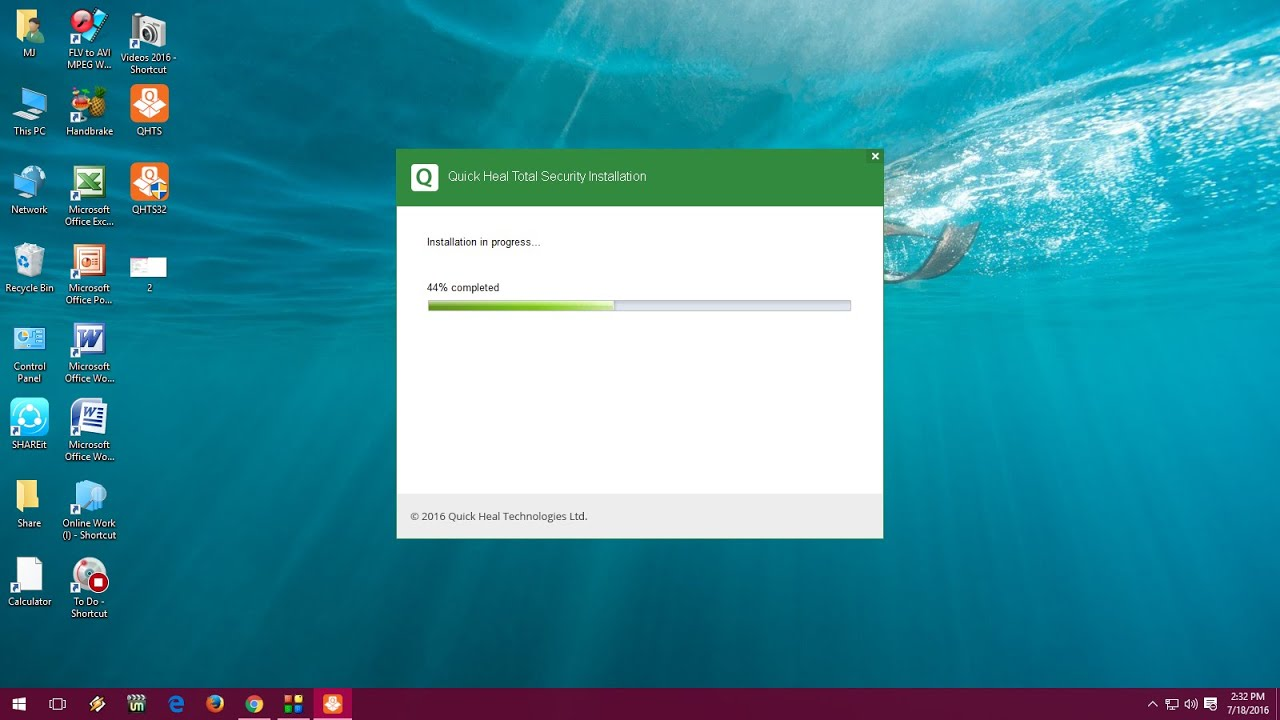 How to Install Quick Heal Antivirus in Windows 10 PC (Easy Steps ...