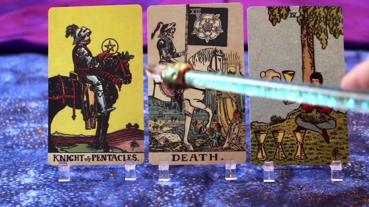 KNIGHT OF PENTACLES tarot reading (Virgo)