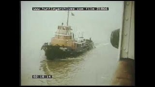 Tug Work  in Harbour - An RN Instructional film #169