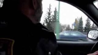 Operation HandsFree Regina police ride along (Nov. 17, 2011)