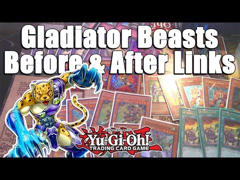 Yu-Gi-Oh! Gladiator Beasts Before & After Link Summon Rules! Can they Compete?