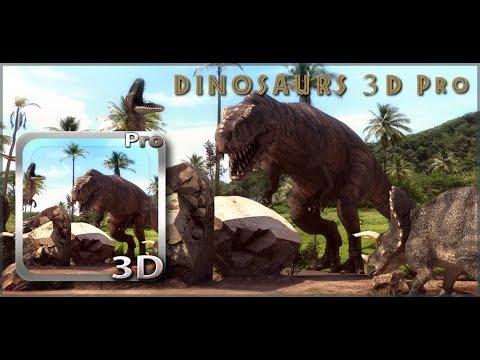Dinosaurs 3D PRO Live Wallpaper