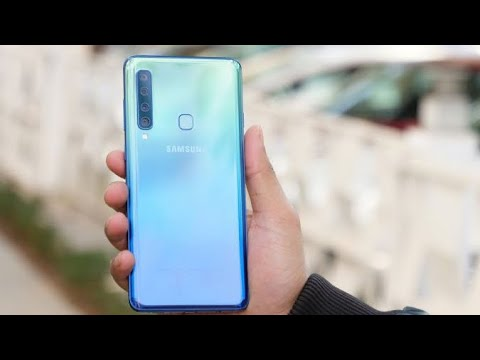 Samsung A50 Unboxing And Review