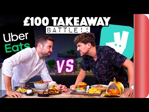 £100 UberEats and Deliveroo Takeaway Battle